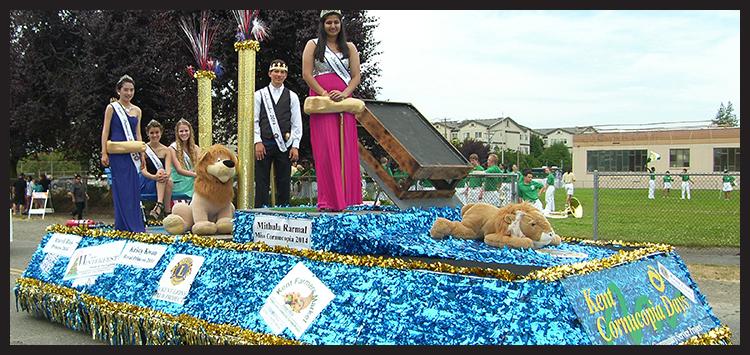 Kent Cornucopia Days 2014 Royalty